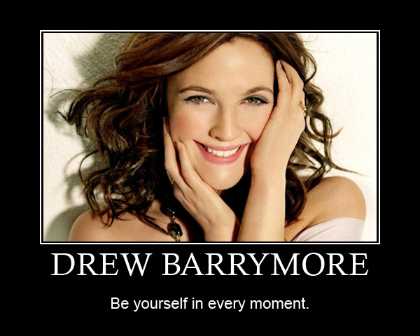 Drew Barrymore Family Drew-barrymore-be-yourself