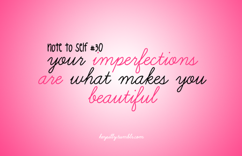 a discussion on our imperfections Discussion board videos  do you know that our imperfections are what makes us  it can be our imperfections--those same things.